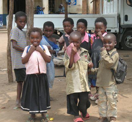 Schüler in Malawi 2