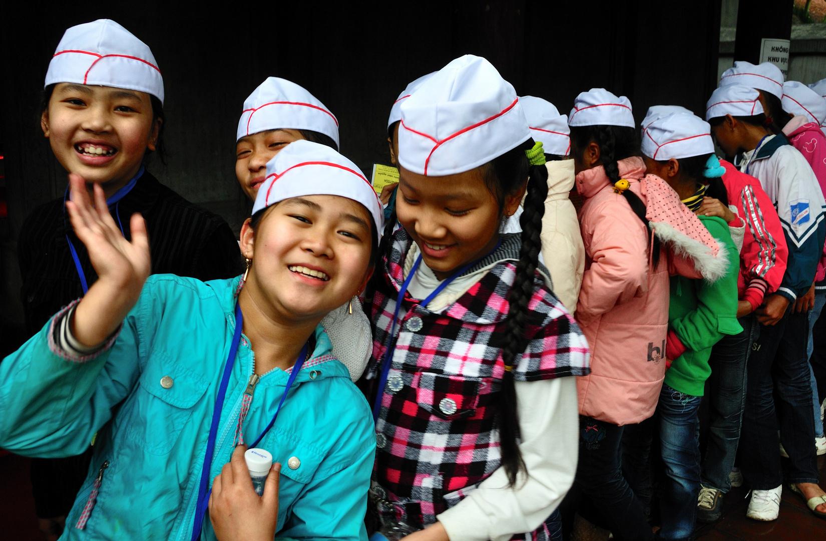 Schülerausflug in Hanoi