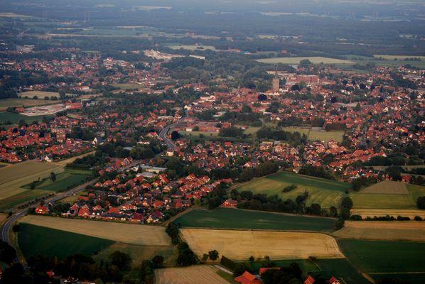 Schüttorf aus 330m Höhe