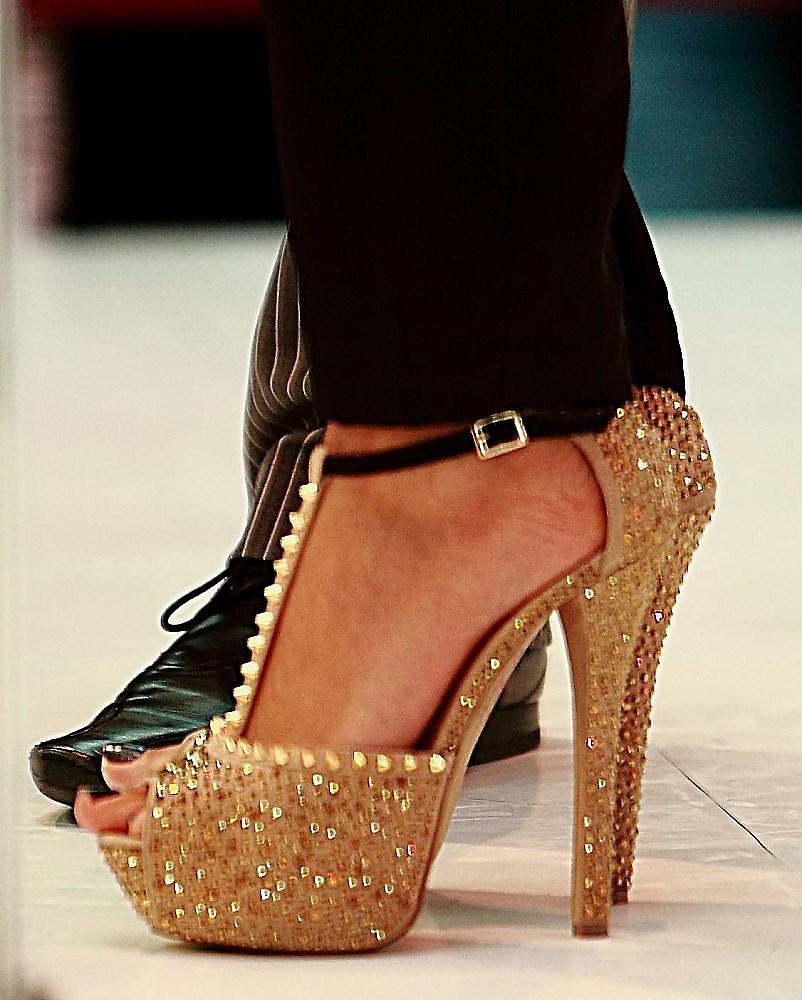 Schuhe der Verona Pooth.....