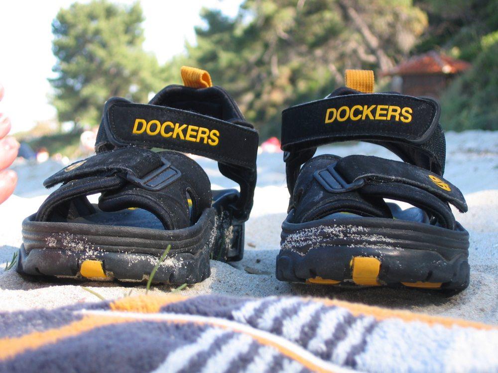 Schuhe im Urlaub