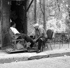 Schuhputzer in Havanna