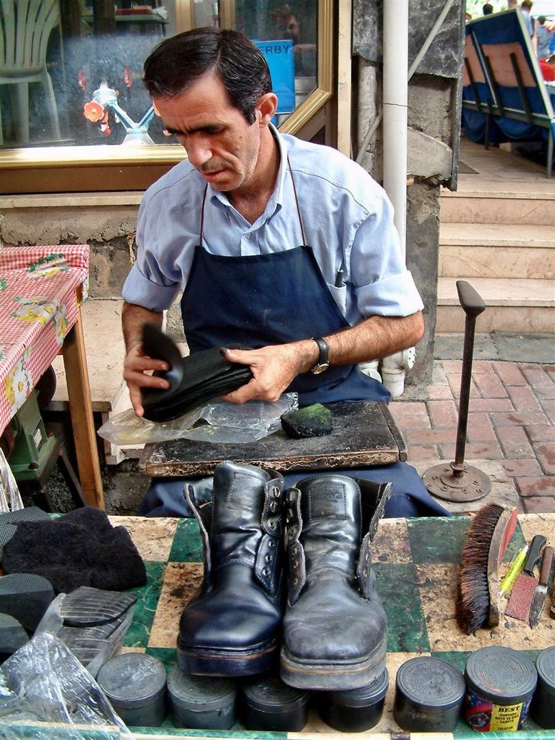 Schuhreparatur in Alanya