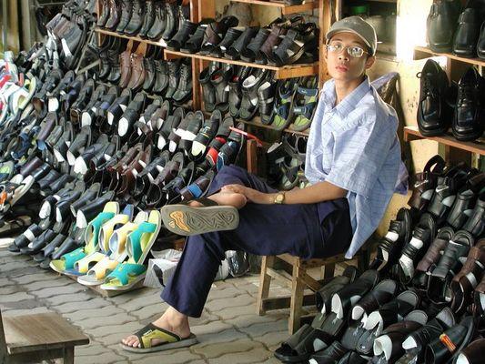 Schuhverkäufer - Hanoi