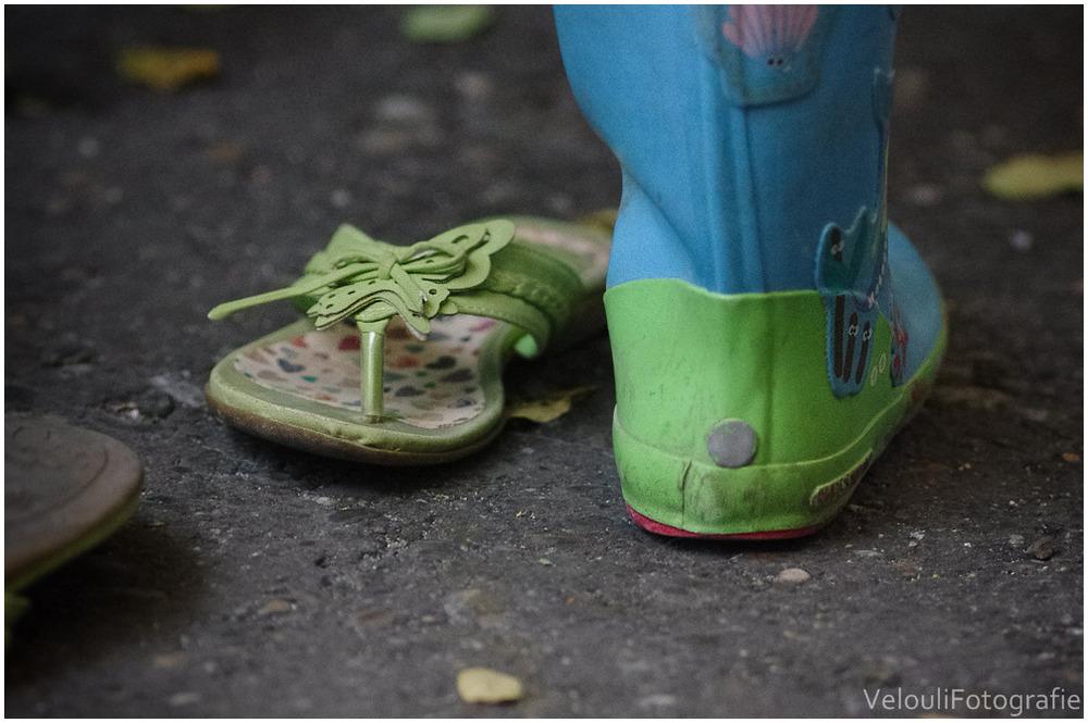 Schuhwechsel