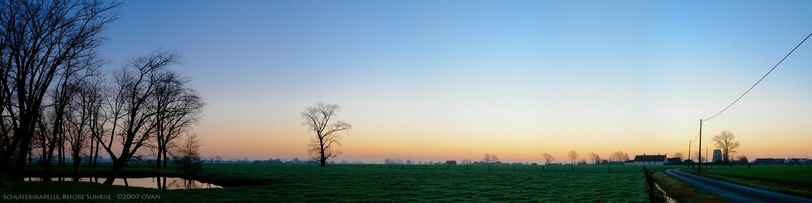 Schuiferskapelle, Before Sunrise