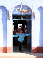 Schule in einem nubischen Dorf