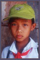 Schuljunge-Vietnam