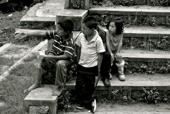 Schulkinder in Mexico 2