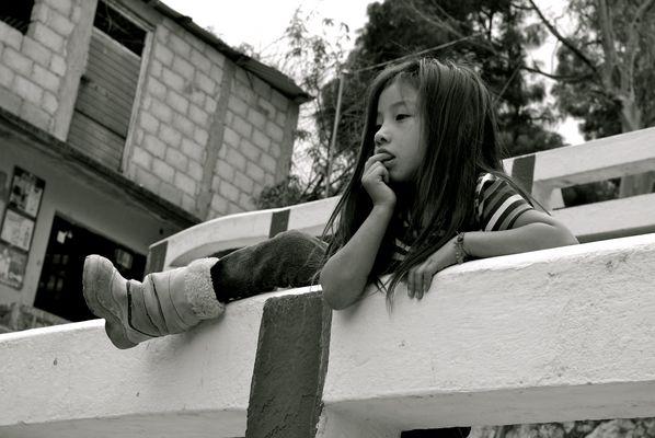 Schulkinder in Mexiko