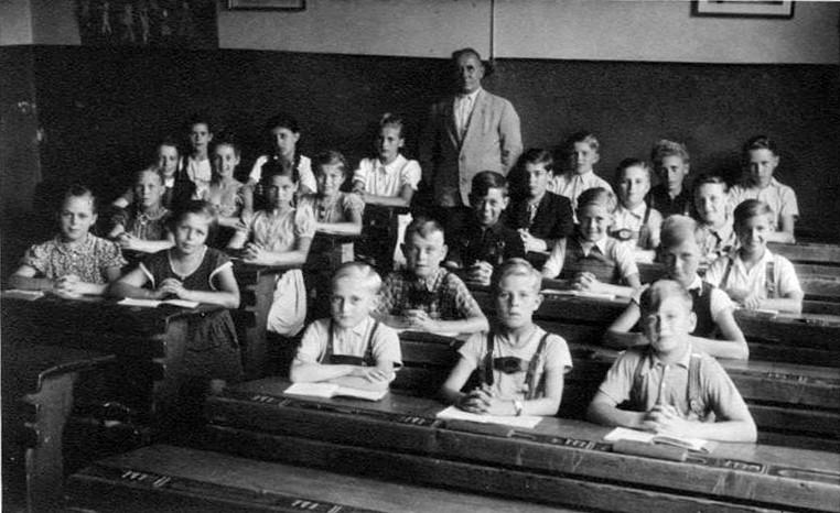 Schulklasse 30er jahre