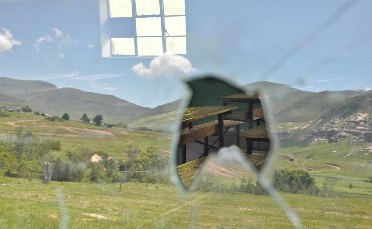Schulklasse in den Drakensbergen