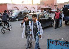 Schulweg Meinung Maroc