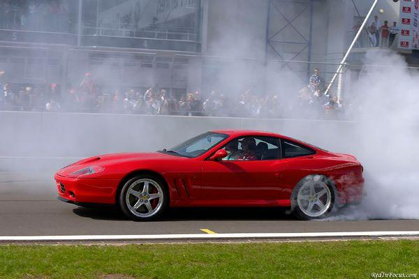 Schumacher im 575 M Handling GTC