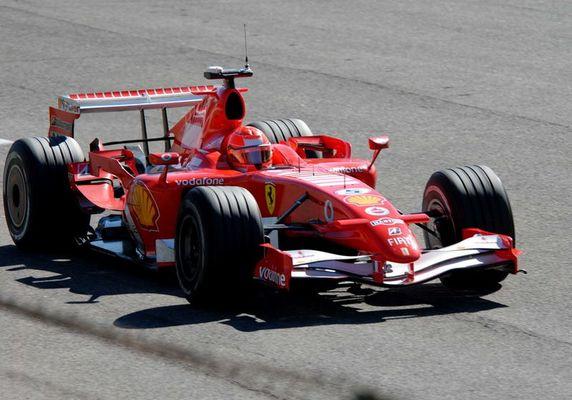 Schumacher in Monza 2006