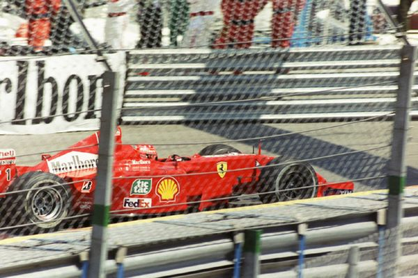 Schumi bein F1-GP in Monaco