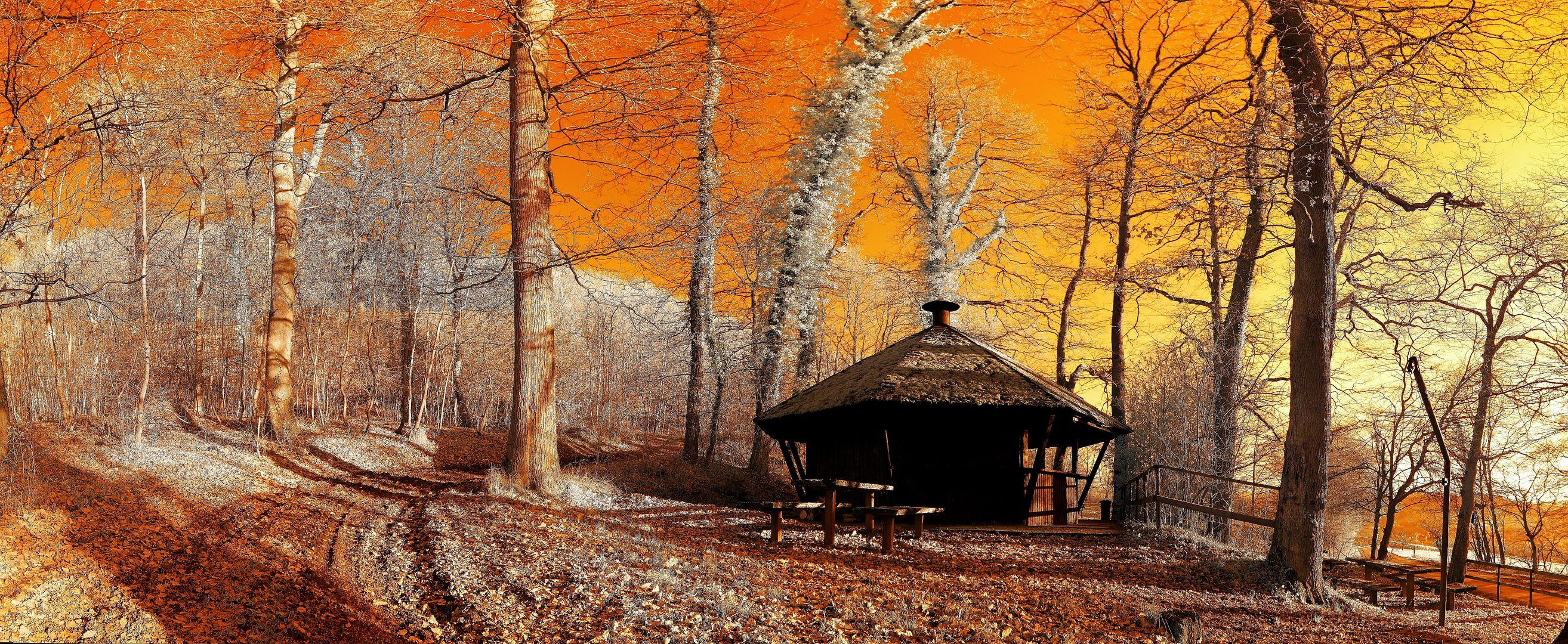 Schutzhütte 590 nm