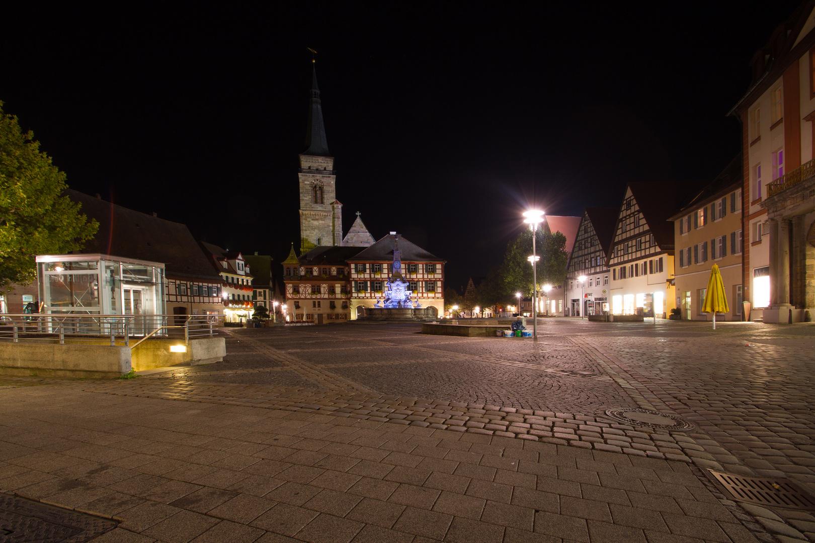 Schwabach bei Nacht (4)