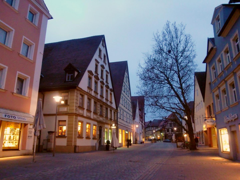 Schwabach bei Nacht