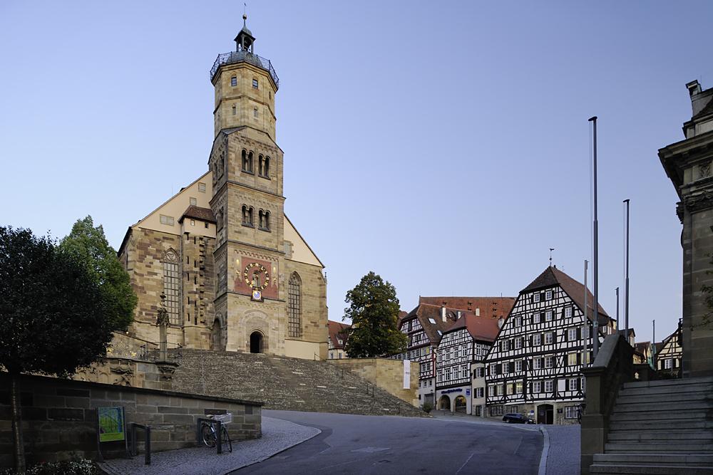 Schwäbisch Hall, Evangelische Stadtkirche St. Michael
