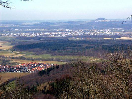 Schwäbische Alb mit Hohenstaufen