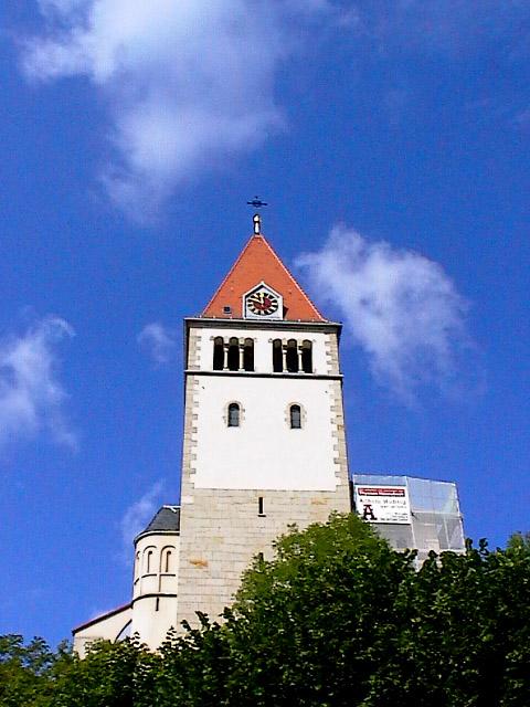 Schwäbische Dorfkirche