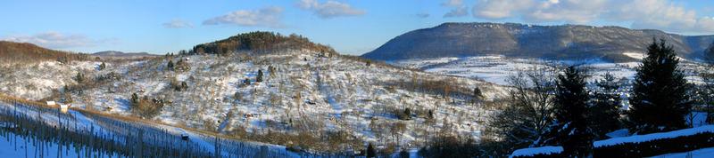 schwäbischeAlb im Winter