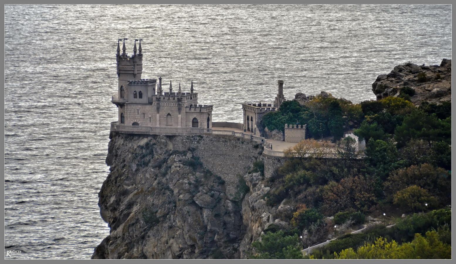 """""""Schwalbnennest"""" - bei Jalta"""