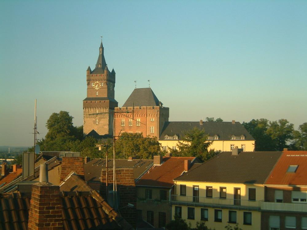 Schwanenburg, Kleve - 31. August 2005