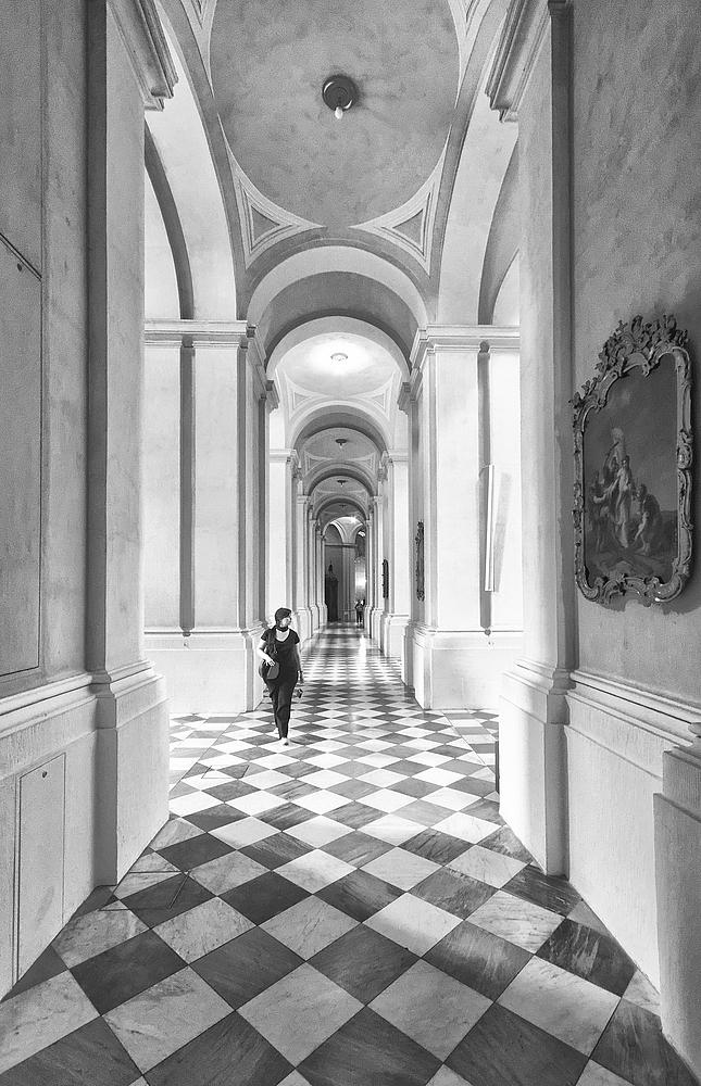 Schwarz auf Weiß von Markus Peerenboom