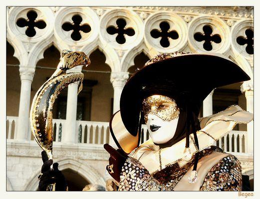 Schwarz - Gold in Venedig