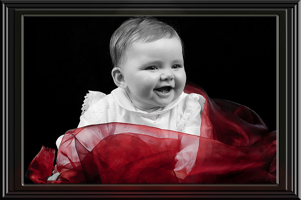 ...schwarz weiß im roten Tuch...