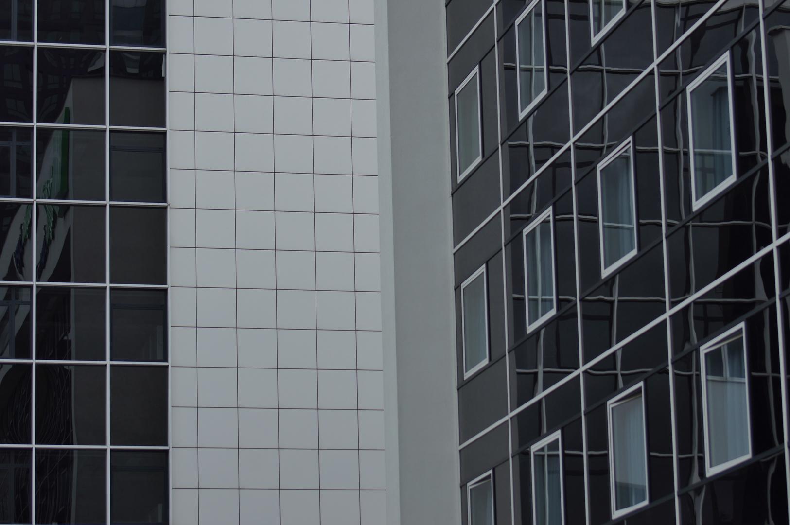 Schwarz - weiß in Antwerpen