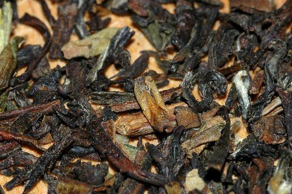 Schwarzer Tee --- gelöst