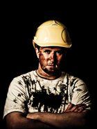 Schwarzes Gold - Ölarbeiter Portrait