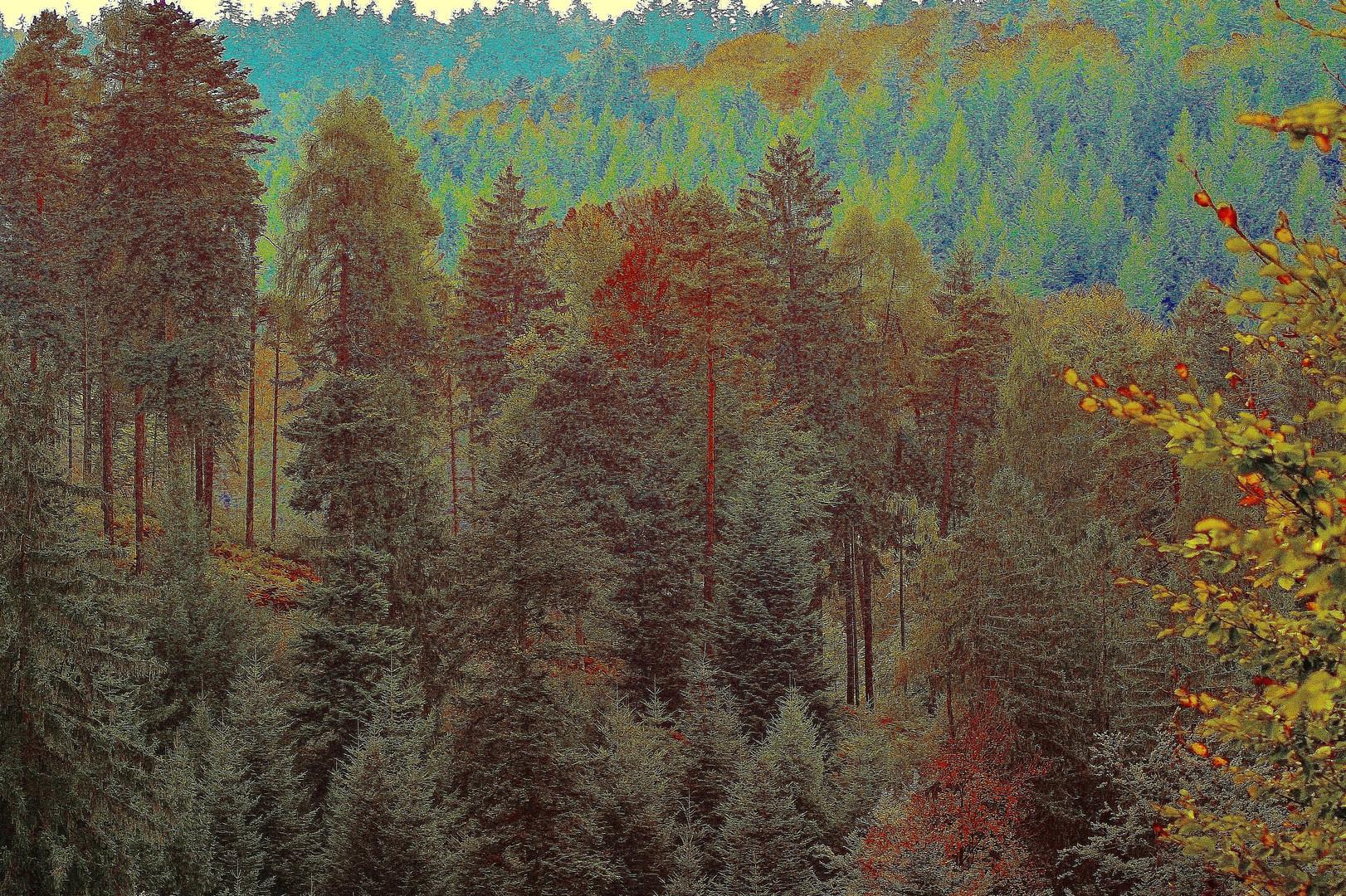 Schwarzwald-Gemälde