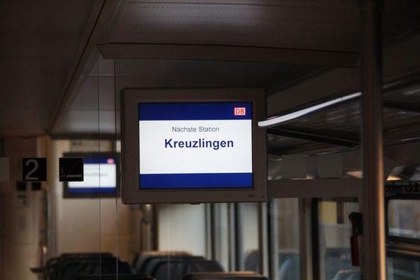 Schwarzwaldbahn verlässt Baden-Würrtemberg