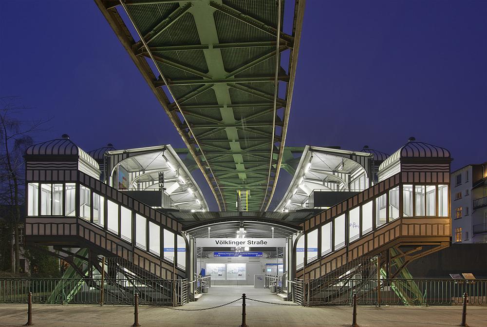 Schwebebahn-Station Völklinger Straße