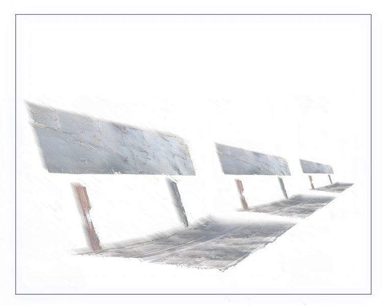 schwebende bänke
