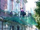 schwebende Terrasse - Café in Salzburg