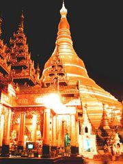 Schwedagon am Abend