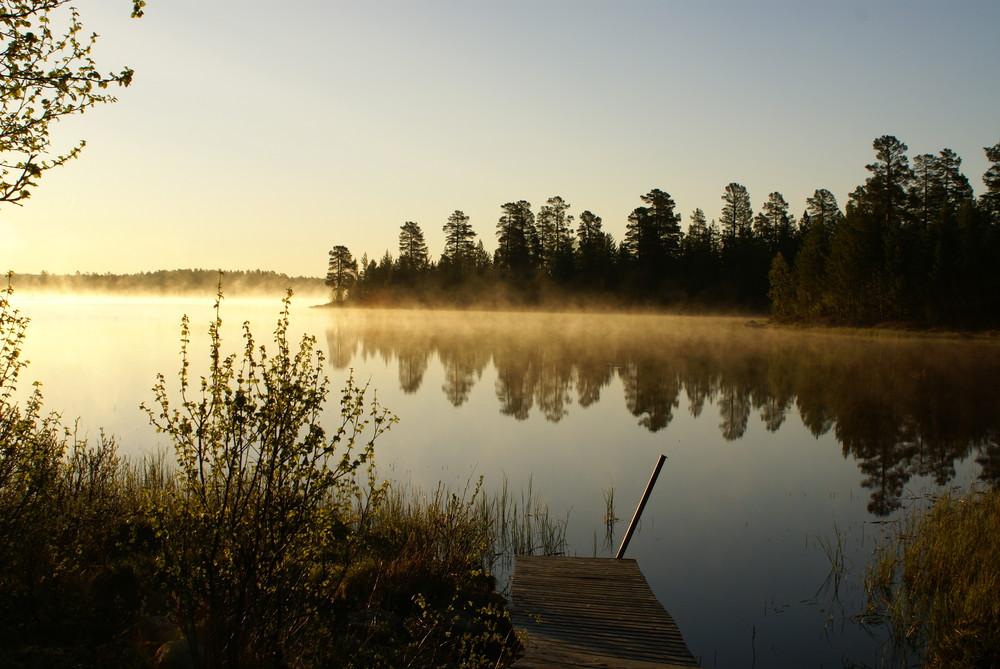 Schweden am Morgen