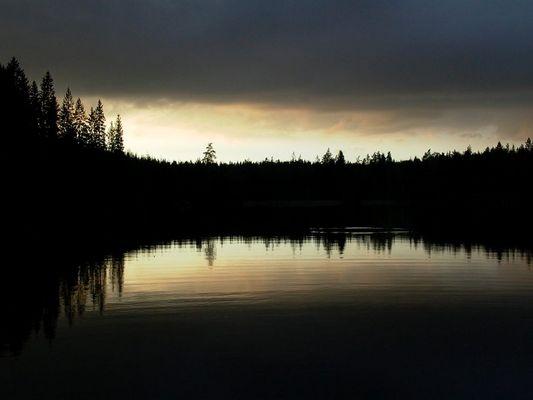 Schweden bei Nacht