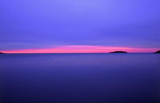 Schweden, Dalsland, Bucht von Åmål, Vänern See