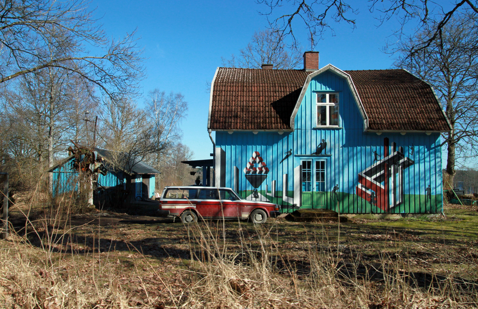 Schweden-Haus - einmal anders