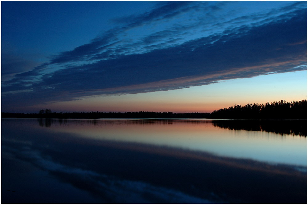 Schweden kurz vor Beginn des Sommers