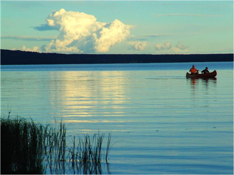 Schweden - Sonnenuntergang
