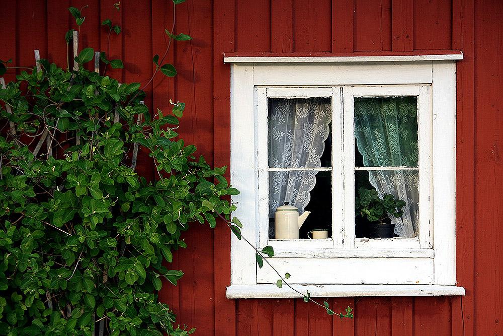 Schwedische Gardinen