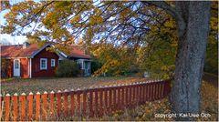 Schwedische Herbstidylle