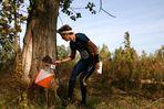 Schwedischer Läufer am vorletzten Posten